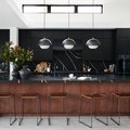 10 Black Kitchen Islands With Seating We Can't Stop Crushing On