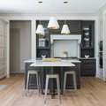 These T-Shaped Kitchen Island Ideas Are Surprisingly Convenient