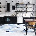 Dear Blue Kitchen Floor Ideas, We Love You