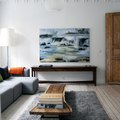 A Couple in Norway Brings Cali Cool to Their Classic Apartment