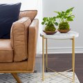 Easy IKEA Decor Hack: From Plain Side Table to a Marble Masterpiece