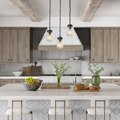 10 Rustic Pendant Lighting Ideas to Dress Up Your Kitchen Island