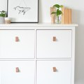These DIY Leather Pulls Are the Easiest Way to Personalize IKEA Products
