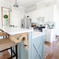 These Two-Tier Kitchen Islands Are Making Us Do a Double Take