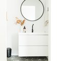 Finally, White Bathroom Cabinet Ideas That Won't Put You to Sleep