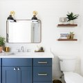 9 Ways to Rock Blue Bathroom Cabinets