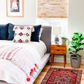 Creating a Bright and Breezy Bedroom Is All About the Textiles