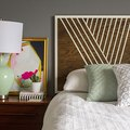 DIY Modern Headboard (We Challenge You to Try This!)