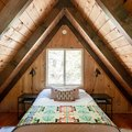 Knotty Pine and Modern Finishes Create This Magical Mountain A-Frame