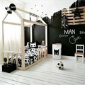 These Kids' Bedroom Ideas With Black Walls Are Pure FIYA