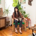Everything in This Philly Apartment Is Built Slightly Skewed, and That's How She Likes It