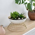 We Made This Planter Using Two IKEA Bowls