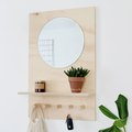 This DIY Wall-Mounted Organizer Is a Smart Solution to Solving a Messy Entryway