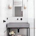 12 Scandinavian-Inspired Bathroom Vanities That Prove Less Is More
