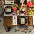 Easy Decor and Thoughtful Touches Make for the Perfect Rustic Friendsgiving Table