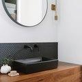 Considering Black Bathroom Backsplash Ideas? We Approve