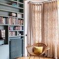 A Family-Friendly Parisian Apartment Balances Color With Class