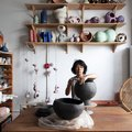 Ceramicist Yuko Nishikawa's Comfy Yet Eclectic Apartment and Studio Will Spark Your Creativity
