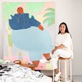 Artist Lilian Martinez Welcomes Us Into Her Artsy Desert Retreat