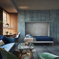 Tour This Urban Home With Luxe, Noir-Like Drama