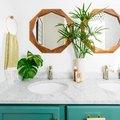 These Carrara Marble Bathroom Backsplash Ideas Are Oh-So-Chic