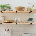 There's an Art to Styling Open Kitchen Shelves: 7 Steps to Get You Started