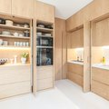 You've Got to See the Luxe Built-Ins in This 960-Square-Foot Apartment