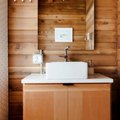 Want a Wood Bathroom Backsplash? Read the Pros and Cons Before You Commit