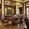 6 Mission Style Dining Room Lighting Ideas That'd Make Frank Lloyd Wright Proud