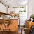 10 Clever Ways to Decorate Above Your Kitchen Cabinets