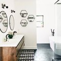 Try This: Matching Shapes in a Bathroom Design