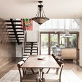 Traditional Meets Modern: 6 Dining Rooms With Craftsman Style Lighting