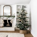 Farmhouse Christmas Tree Ideas That'll Fill the Holiday Season With Rustic Charm