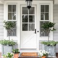 Just 8 Farmhouse Front Door Ideas That Make the Case for Country Living