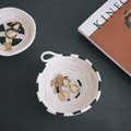 Construct Artisan-Inspired Bowls Using Cotton Clothesline