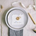 These DIY Wax Seal Place Cards Are Utterly Charming