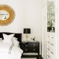 6 Black and White Bedrooms That Epitomize Hollywood Glam