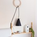 It's Hard to Believe That This Scandi-Style Lamp Cost Less Than 20 Dollars to DIY