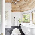 8 Rustic Bathroom Lighting Ideas That Are Worthy of a Luxe Mountain Retreat