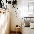 Industrial Meets Boho in This Minimal Bedroom