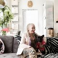 Welcome to CC Boom's LA Loft Where Cozy Kitsch Is on Display in Every Room