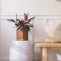 This Leather-Wrapped Planter Tutorial Is Our New Fave