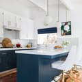 These Solid Surface Kitchen Countertops Are Surprisingly Chic