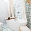 Slimy Shower Curtains Aren't a Good Look, So Clean Yours ASAP With These Easy Steps