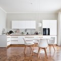 These White Kitchens With Wood Floors Are Such a Treat