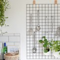 For Small Kitchen Spaces, Use This Handy DIY Wall Organizer to Hold Utensils