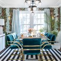These Art Deco Dining Room Ideas Are for Fancy Dinner Parties ONLY