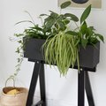 Create This Lovely Plant Box Using an Inexpensive IKEA Desk Piece