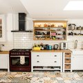 These Bold Kitchen Floor Tile Patterns Are Not for the Timid