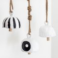 These Earthy Clay Bells Are Easy-to-Make Wall Decor